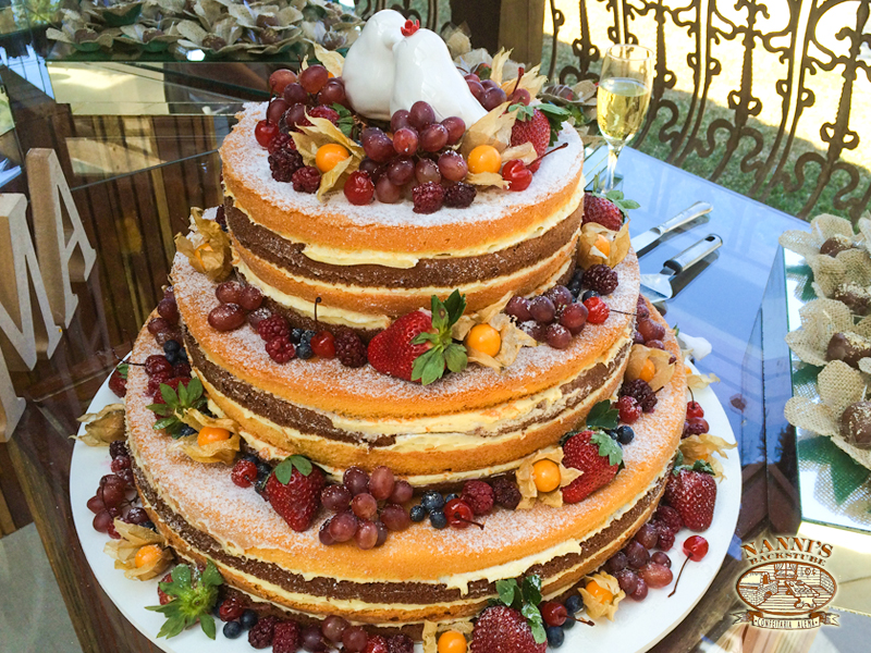 NAKED CAKE ESPECIAL 3 ANDARES